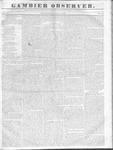 Gambier Observer, June 8, 1836