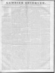 Gambier Observer, June 22, 1836