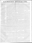 Gambier Observer, June 29, 1836