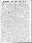 Gambier Observer, May 25, 1836