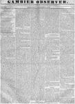 Gambier Observer, November 23, 1836