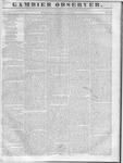 Gambier Observer, October 19, 1836