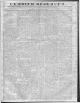 Gambier Observer, August 10, 1836