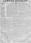 Gambier Observer, December 28, 1836
