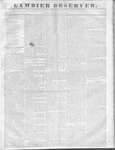 Gambier Observer, May 18, 1836