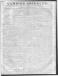 Gambier Observer, September 21, 1836