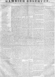 Gambier Observer, April 26, 1837