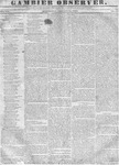 Gambier Observer, January 25, 1837