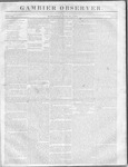 Gambier Observer, July 19, 1837