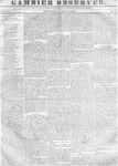 Gambier Observer, March 15, 1837