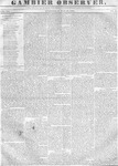 Gambier Observer, May 10, 1837