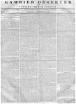 Gambier Observer, November 29, 1837