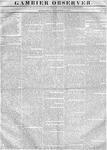 Gambier Observer, November 01, 1837