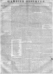 Gambier Observer, October 18, 1837