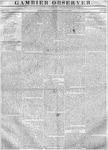 Gambier Observer, September 13, 1837