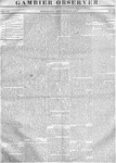 Gambier Observer, September 20, 1837
