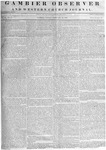 Gambier Observer, February 22, 1839