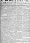 Gambier Observer, January 04, 1839