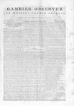 Gambier Observer, April 4, 1840