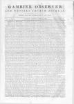 Gambier Observer, April 25, 1840