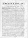 Gambier Observer, April 18, 1840