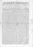 Gambier Observer, February 8, 1840