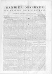 Gambier Observer, February 15, 1840