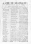 Gambier Observer, March 14, 1840