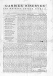 Gambier Observer, March 28, 1840