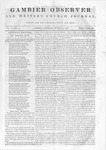 Gambier Observer, March 21, 1840