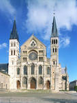 St. Remi, west facade, Reims, France