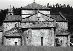 Real Monasterio de Armenteira (Armentera), Spain, apses of