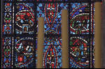 Rouen Cathedral, Joseph Window, Window 16, 13th century, Gothic stained glass, France