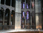 Aachen Cathedral, view of the gallery, Palatine Chapel by Asa Mittman