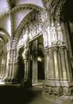Santiago de Compostela, Portico de la Gloria, Galicia, Spain.
