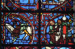 Rouen Cathedral, Sts. Peter and Paul Window, Apse, window 26, section 1