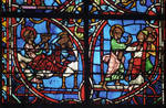 Rouen Cathedral, Sts. Peter and Paul Window, Apse, window 26, section 2