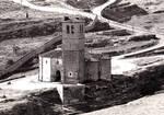 Vera Cruz Templar Church, Segovia, Spain, view from Alcazar