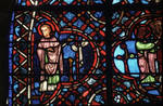 Rouen Cathedral, Good Samaritan Window (detail), Christ