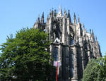 Cologne Cathedral, Choir, east end, begun 1248, Cologne, Germany