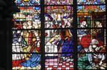 Rouen Cathedral, St. Romain Window, 16th century, Late Gothic/Renaissance stained glass, France