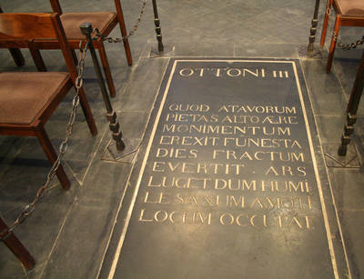 Aachen Cathedral, Tombstone of Otto III