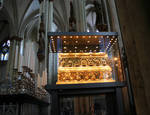 Reliquary Shrine of the Three Kings, Cologne (Koln) Cathedral of St. Peter and St. Mary, Germany, 13th century