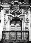 San Marcos, former Mother House of the Military/Religious Order of Santiago. Built in the 12th century (Romanesque), rebuilt in the Plateresque Style 1513-1539 by Juan de Badajoz, left portal tympanum,Leon, Spain