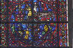 Rouen Cathedral, St. Vincent Window, north aisle, bottom roundel