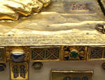 Reliquary Sandal of St. Andrew, detail