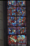 Rouen Cathedral, Sts. Peter and Paul Window, Apse, window 26, lower section