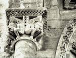 Oloron Sainte Marie Cathedral, 12th century, Romanesque architecture/sculpture, France.