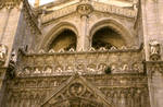 Toledo Cathedral, west facade sculpture