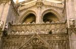 Toledo Cathedral, west facade sculpture